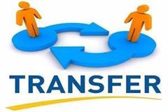 order for transfer and appointment of two ias and 14 hcs officers