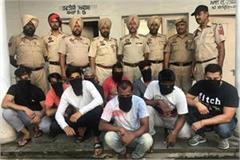 baba gadadiya area firing case 8 accused arrest