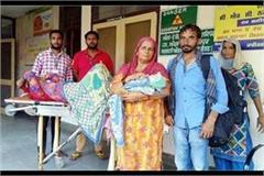 woman gave birth to 108 ambulance