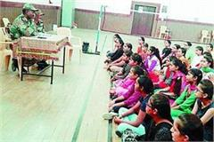 ncc informs the girl students benefits of a unit