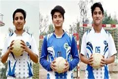 3 handball players of himachal representation of india in asian games