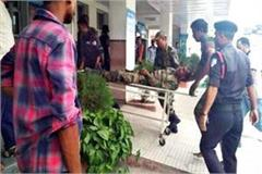 soldier fell down from truck dehradun refer in critical condition