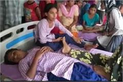 children have sick due to give medicine in government school