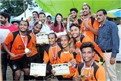 new gurdaspur team win the title of minjar fair hockey