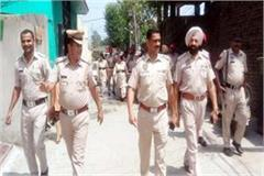 himachal punjab police s search campaign run in channi beli and bhadroya