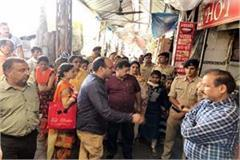 administration removed encroachment by vajreshwari temple road
