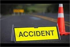 a collision in motorcycle and scooter 1 killed