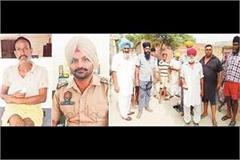 ex army man did firing 1 injured