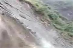 in chamba the mountains collapsed in minutes