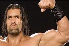 the great khali on october 1
