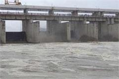 due to the water level of yamuna and ghaggar but the danger is not over