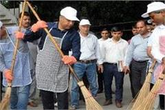 cm jairam broom fitted in delhi