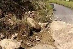 landslide after sunny bloom