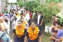 two boxer daughters of dhanana village for the third time