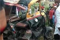 5 dead in shravasti road accident