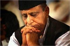 fir against sp former azam khan for threatening his neighbor in rampur