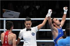 india s amit has won the gold medal