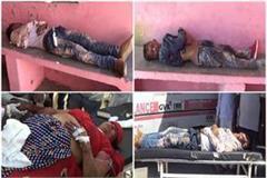 big accident in amroha 5 killed