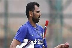 cricketer shami raises questions on the facilities of cricket in up
