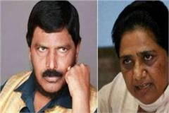 athawale s tart reversal on mayawati s allegations said