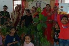 dandhi jubilee celebrated by distributing fruitful tree in chandigarh