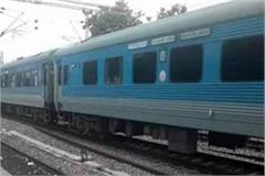 survivor shatabdi express due to the accident in kanpur