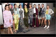 smiley sethi present her collection at london fashion week
