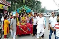 ganpati festival starts in shiva temple majra