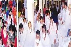 jains celebrated the samvatsari maha parw fan in nadoun