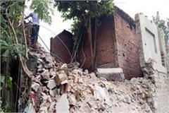 two storey building collapsed due to negligence of administration