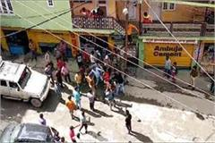taxi driver and devotees fight during manimahesh yatra