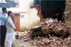 loss of 8 83 lakh from heavy rain