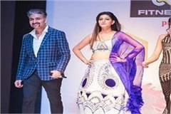 dream rode on the ramp chaudhary catwalked