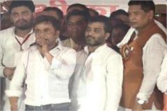 bollywood comedy actor rajpal yadav supports to mp saini