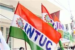 intuc formed union on panchayat level responsibilities assigned to workers