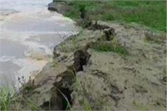 sariyu river erosion