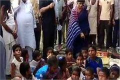 swati singh visits flood affected areas visiting victims