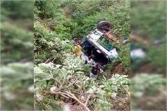painful incident hrtc bus fall into ditch death of 2 42 passengers injured
