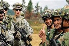 india us joint military exercises on hills of uttarakhand