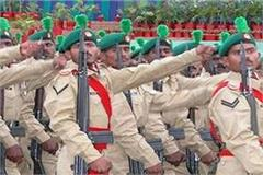for retired soldiers recruitment in punjab regiment