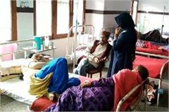 condtion of chamba unlike the government claims 2 2 patients on one bed