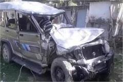two people killed in collision with bolero and auto loader