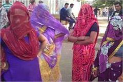 55 5000 ghoonghat kee aad mein ab nahin hoga ab pharjee matadaan