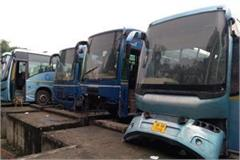 haryana bus transportation buses are cundum due to not replacing