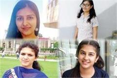 girls in sca s four seats in hpu manisha became president