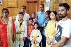 kick boxer shine at the national level 7 medal won including 2 gold