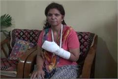 vice principal beaten woman teacher ruthlessly in front of children