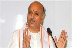 togadia will take up the rally on october 21 for ram temple