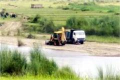 department s big action on illegal mining fine to 5 vehicles including jcb