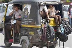 overloading vehicles in kangra